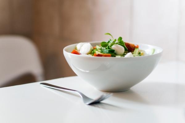 bowl of healthy gluten-free food